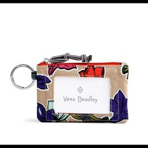 Vera Bradley ID Zip Case w/ Lanyard